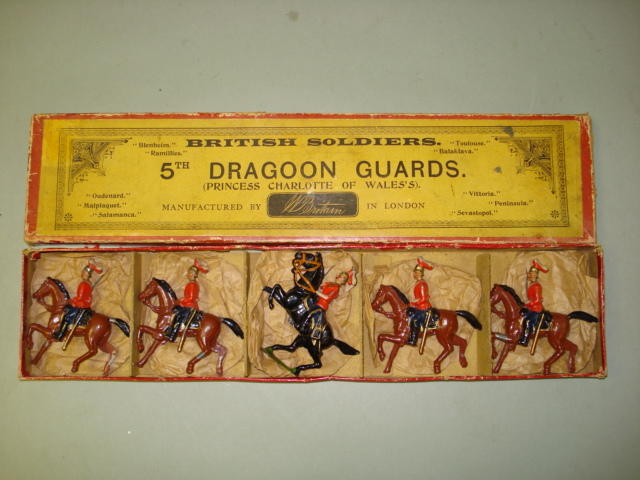 Britains set 3, 5th Dragoon Guards 5
