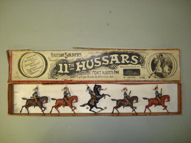 Britains EXTREMELY RARE set 12, 11th Hussars 5