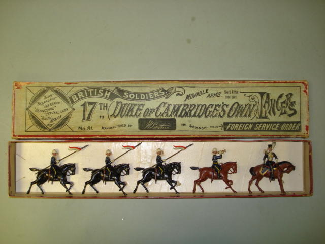 Britains RARE set 81, 17th Lancers 5