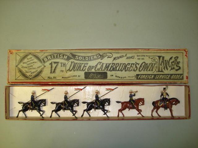 Britains RARE set 81, 17th Lancers 5