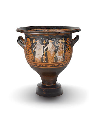 A Campanian red-figure bell krater
