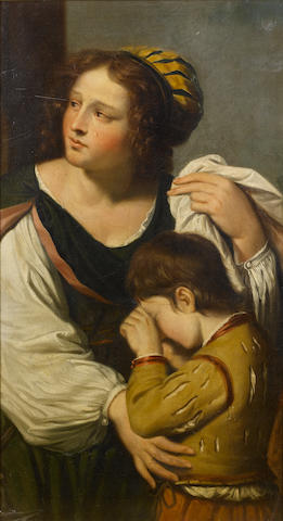 After Giovanni Francesco Barbieri, called il Guercino, 19th Century Hagar and Ishmael