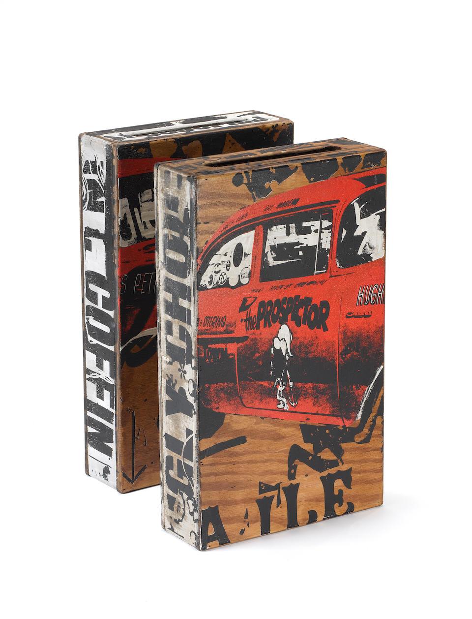 Faile (American, Canadian, Japanese) 'Faile Box London # 38', 2007