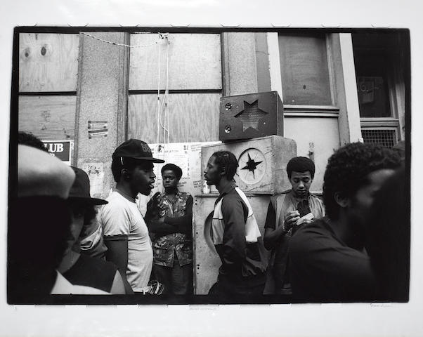 Peter Anderson (British, born 1954) 'Sound System 2', 1983 Notting Hill Carnival