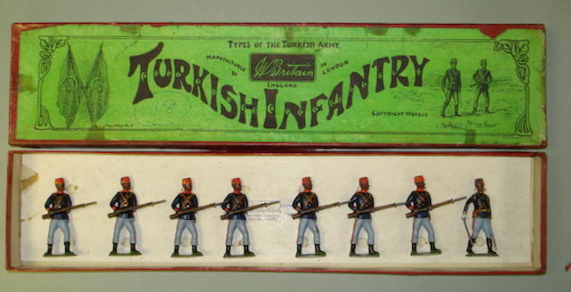 Britains set 167, Turkish Infantry 8
