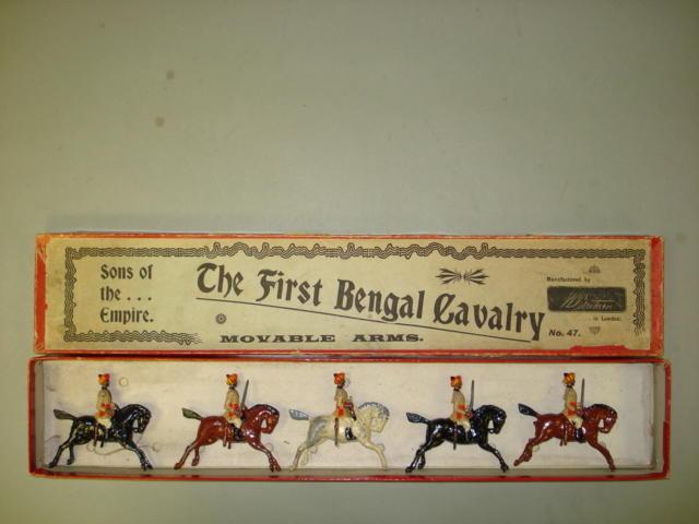 Britains set 47, 1st Bombay Cavalry 5