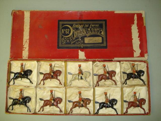 Britains set 62, 1st Bengal Cavalry Display 10