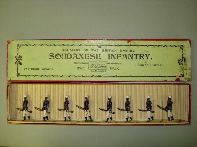 Britains set 116, Soudanese Infantry 8