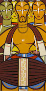 Jamini Roy (India, 1887-1972) Sadhus