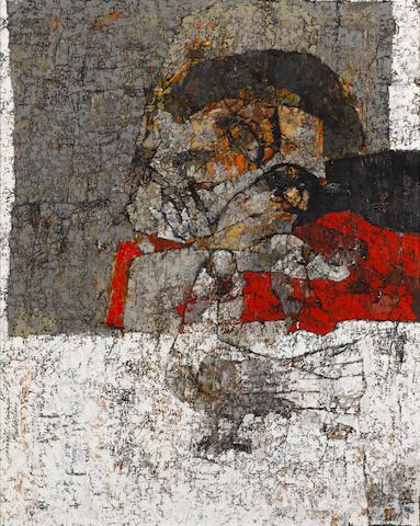 Jamil Naqsh (Pakistani, born 1938) Untitled, 1978 29 1/2 x 23 1/4in (75 x 59cm)