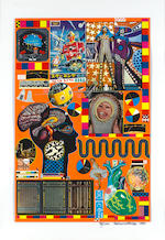 Sir Eduardo Paolozzi (British, 1924-2005) Zero Energy Experimental Pile Portfolio, 1970, with the title page and the complete set of 6 colour offset lithographs, each signed, dated and numbered 71/100 in black felt pen, 870 x 605mm (34 1/4 x 23 3/4in)(portfolio)