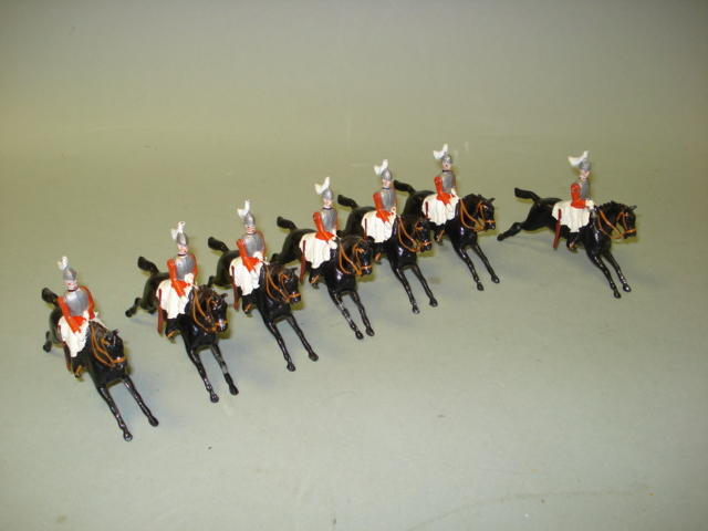 Britains from display set 73, 2nd Life Guards 7