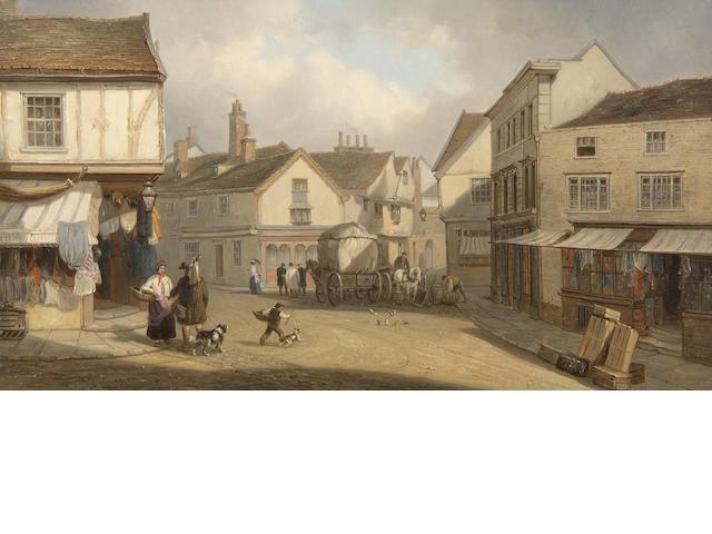 Thomas Smythe (British, 1825-1906) Silent Street, Ipswich
