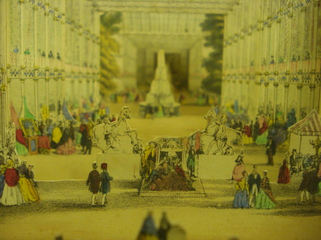 A Telescopic View of The Great Exhibition, 1851 Printed by C Moody, Holborn