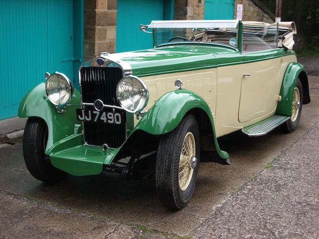 1933 Delage D8 Drophead Coupe,
