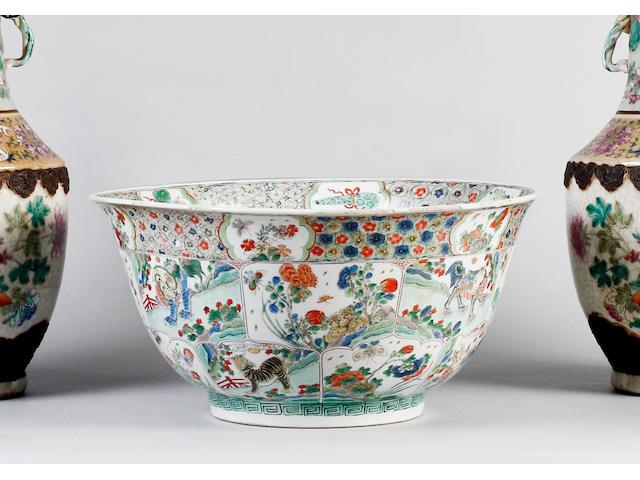 A Kanghsi famille verte bowl