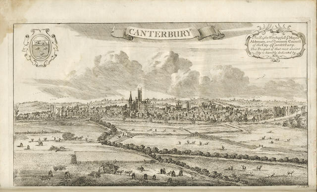 KENT SOMNER (WILLIAM) The Antiquities of Canterbury in Two Parts