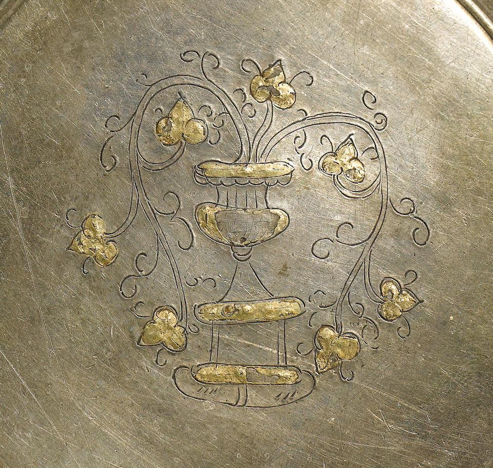 A fine Roman silver trulla