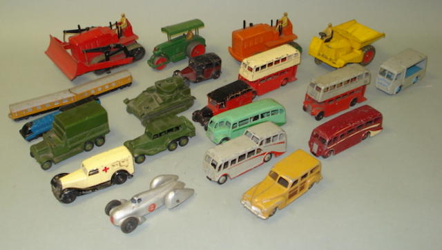 Dinky vehicles lot