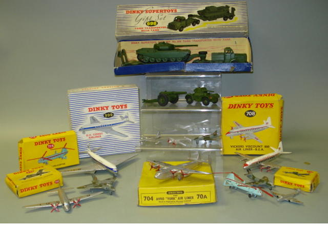 Dinky aircraft and military 17