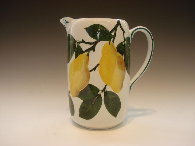 'Lemons' A milk jug, Bovey Tracey period