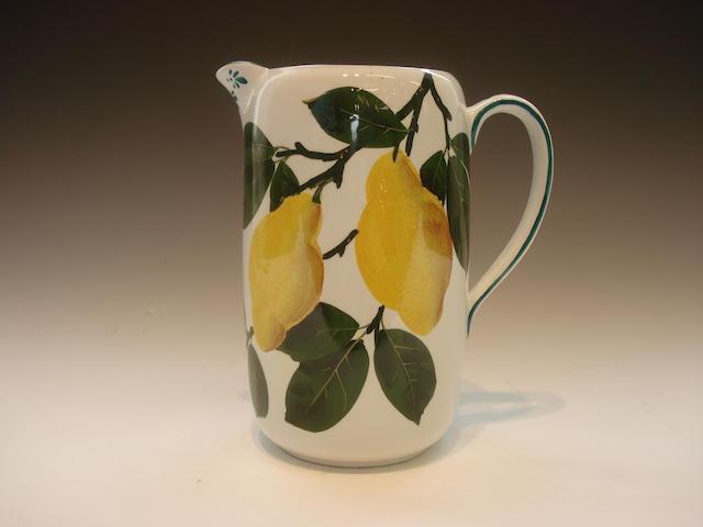 'Lemons' A milk jug, Bovey Tracey period