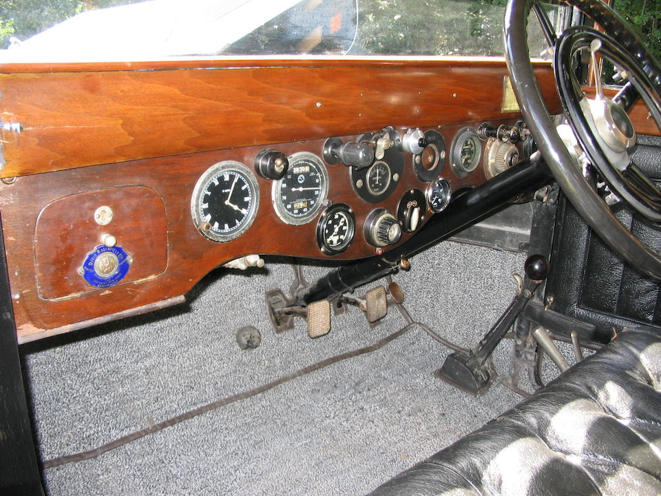 1926 Talbot 18/55hp Limousine  Chassis no. 1305682 LM Engine no. 100320