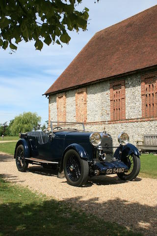 The property of The Lord Berkeley,1931 Lagonda 2-Litre Tourer  Chassis no. OH 9892 Engine no. OH 1646