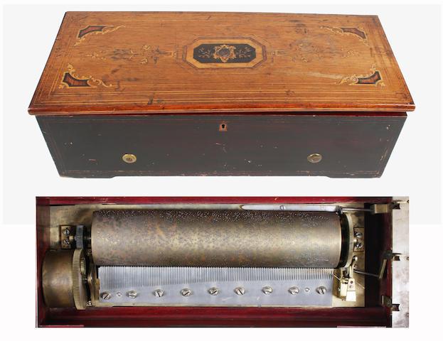 A two-per-turn musical box by Nicole Frerés,