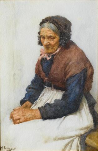 Walter Langley, RI (British, 1852-1922) Old Grace