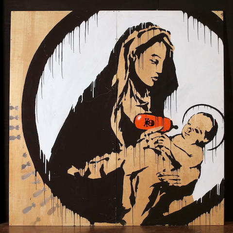 Banksy (British, born 1975) 'Toxic Mary', 2003
