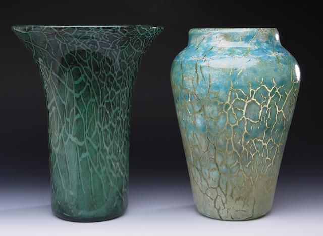 A Monart 'Cloisonne' vase Shape PG