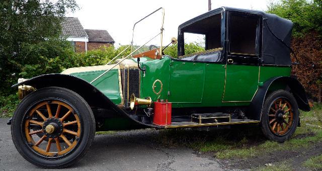 1912 Renault Type CC Salamanca  Chassis no. 31449 Engine no. 4941