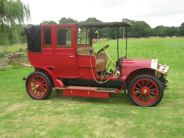 c.1904 Delaugère et Clayette 20hp Landaulet  Chassis no. 303 Engine no. 202