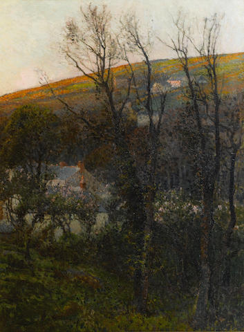 Samuel John Lamorna Birch R.A., R.W.S., R.W.A. (British, 1869-1955) Lamorna Valley Late Afternoon, (