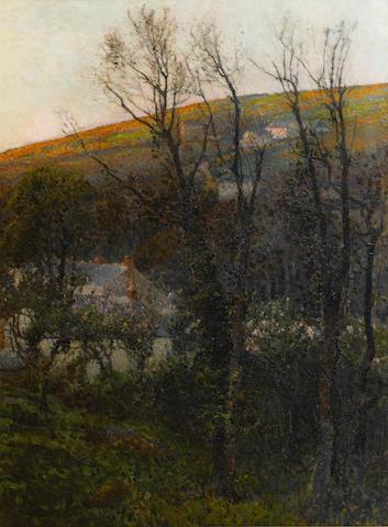 Samuel John Lamorna Birch R.A., R.W.S., R.W.A. (British, 1869-1955) Lamorna Valley Late Afternoon, (