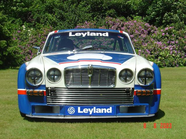 1976-77 Broadspeed Jaguar XJ12 Competition Saloon  Chassis no. BELJC002