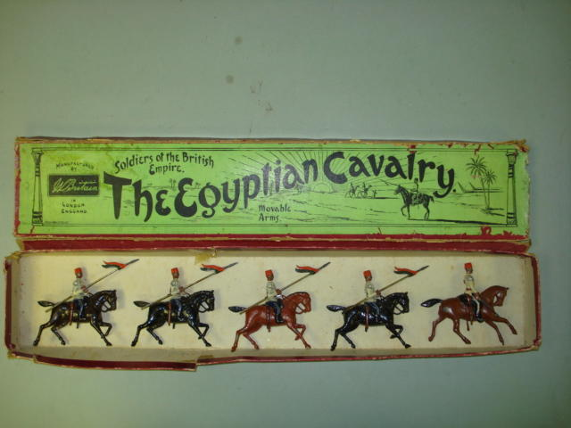 Britains from set 115, Egyptian Cavalry  5