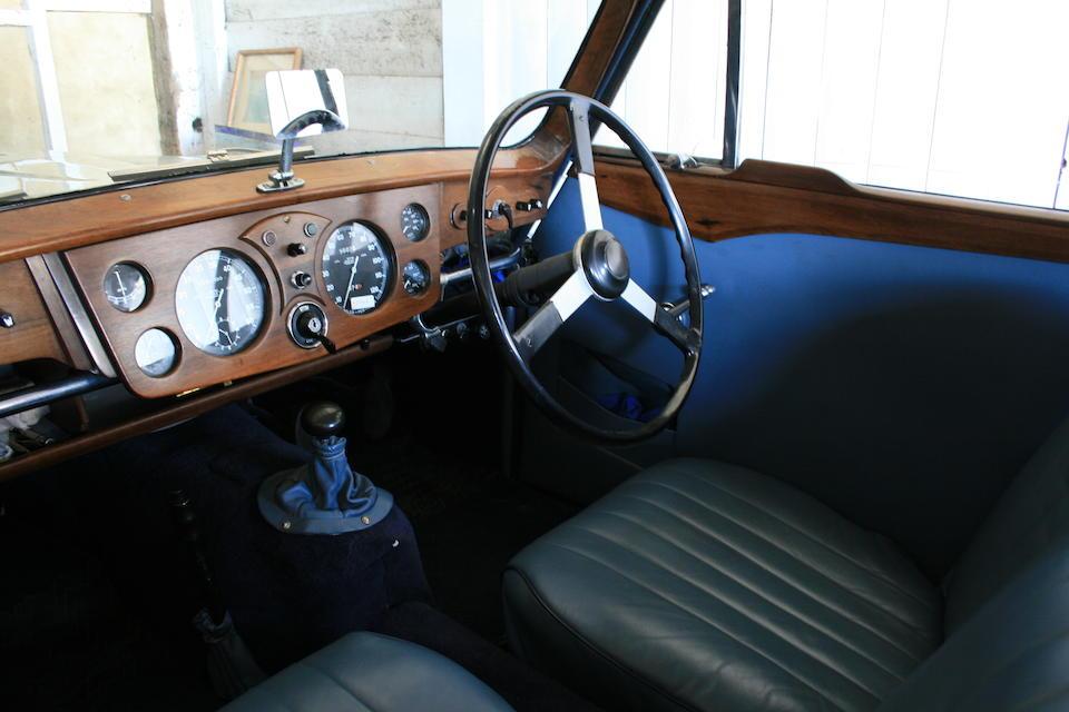 1948 Healey Elliott Saloon  Chassis no. B1708 Engine no. N7181B1338