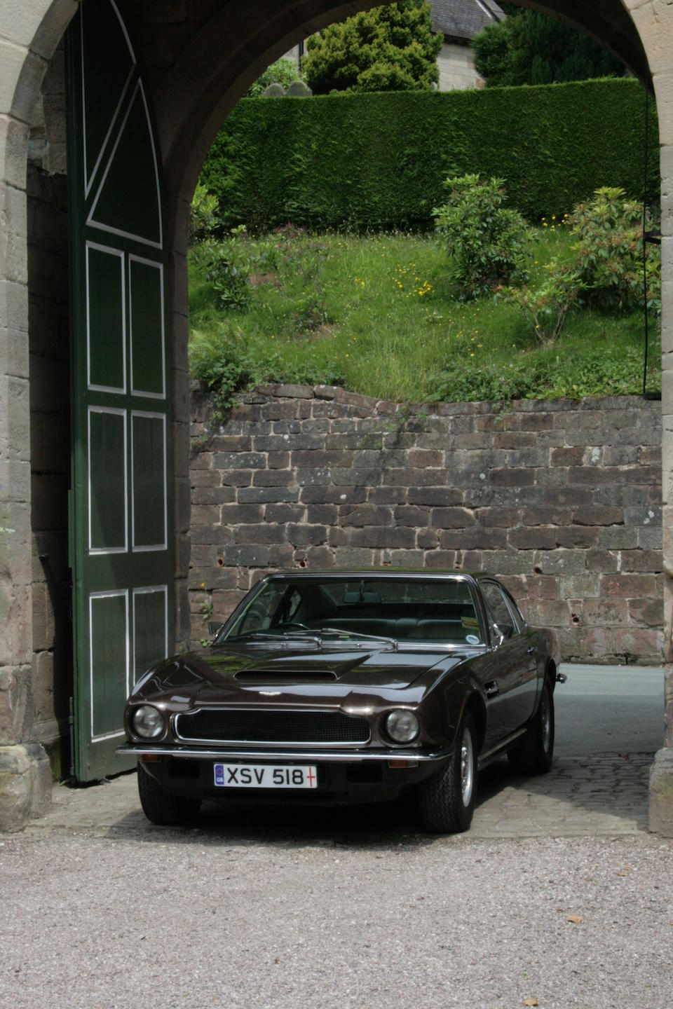 One owner from new,1973 Aston Martin V8 Series 2 Saloon  Chassis no. V8/10722/RCA Engine no. V/540/583