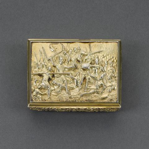 A George IV silver-gilt snuff box, by Thomas Shaw, Birmingham 1828,