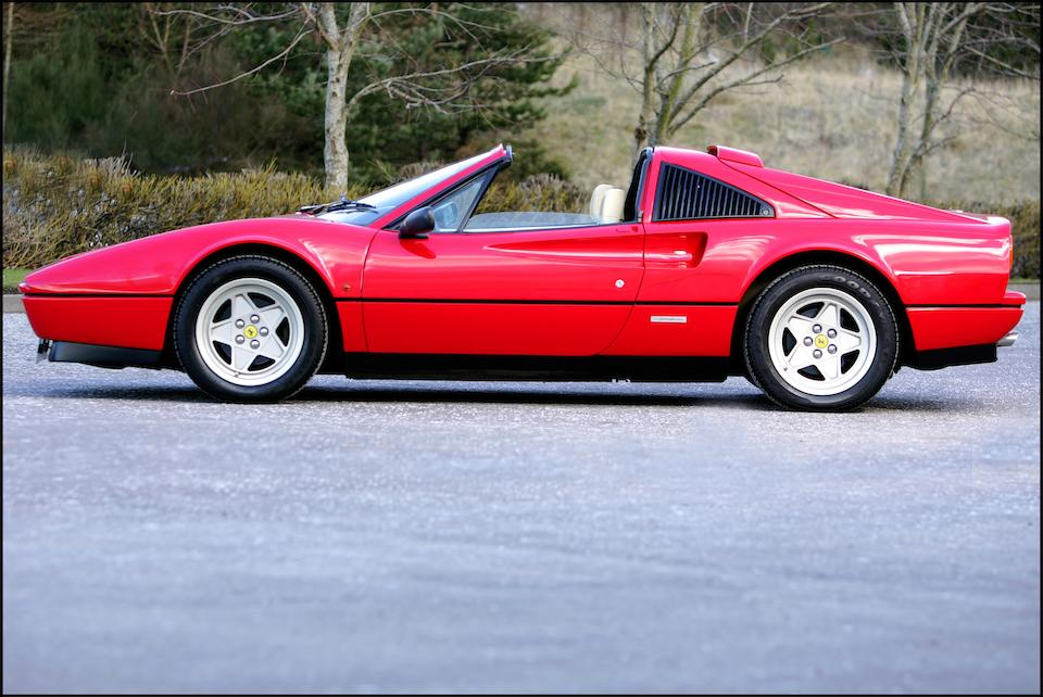 1987 Ferrari 328GTS Targa Convertible Coupé  Chassis no. ZFFWA20C00073615 Engine no. 2865