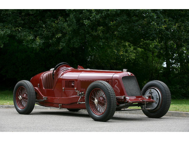 Ex-A.J. Lees,1931-Type Maserati Tipo 8C-2800 Two-Seat Sports/Formula Competition Car