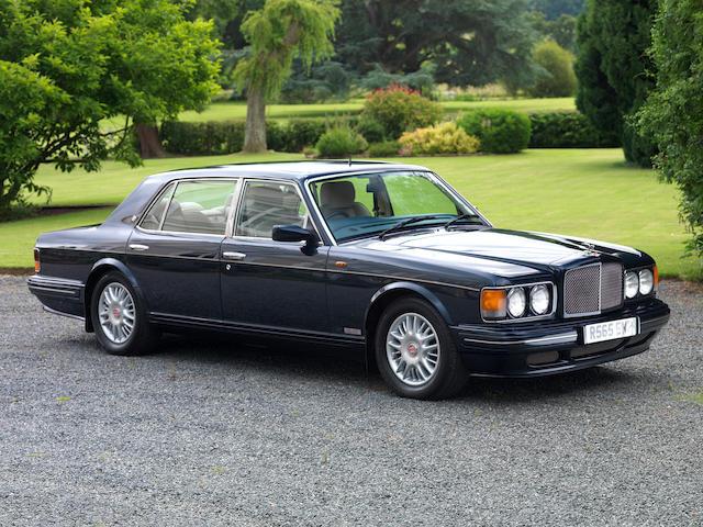 1997 Bentley Turbo RT auto  Chassis no. 89097L410MT1TS Engine no. 89097L410MT1TS