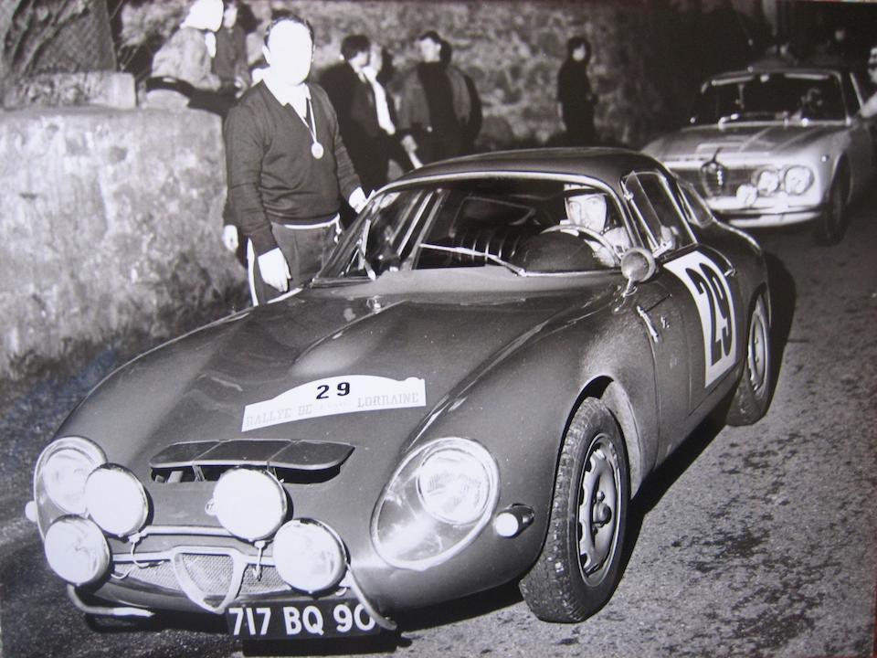 1965 Alfa Romeo TZ Berlinetta  Chassis no. 080