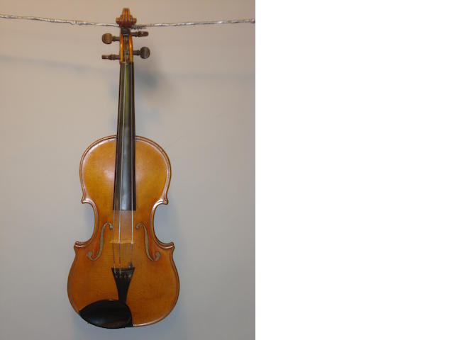 violin & 2 bows cased