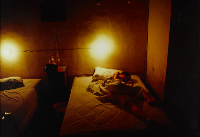 Nan Goldin (American, born 1953) 'Suzanne in Yellow Hotel Room', 1981