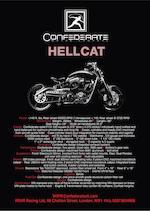 2007 Confederate B131 Hellcat Combat  Frame no. 1C9SF29097B908011