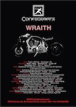 2007 Confederate B120 Wraith,