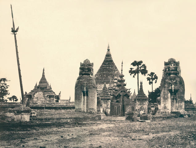 TRIPE (LINNAEUS)  Views in Burma, 1857